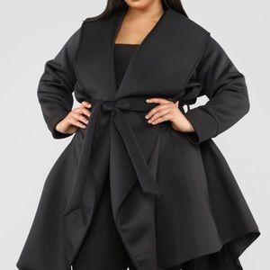 NWT fashionnova bow tie waist coat